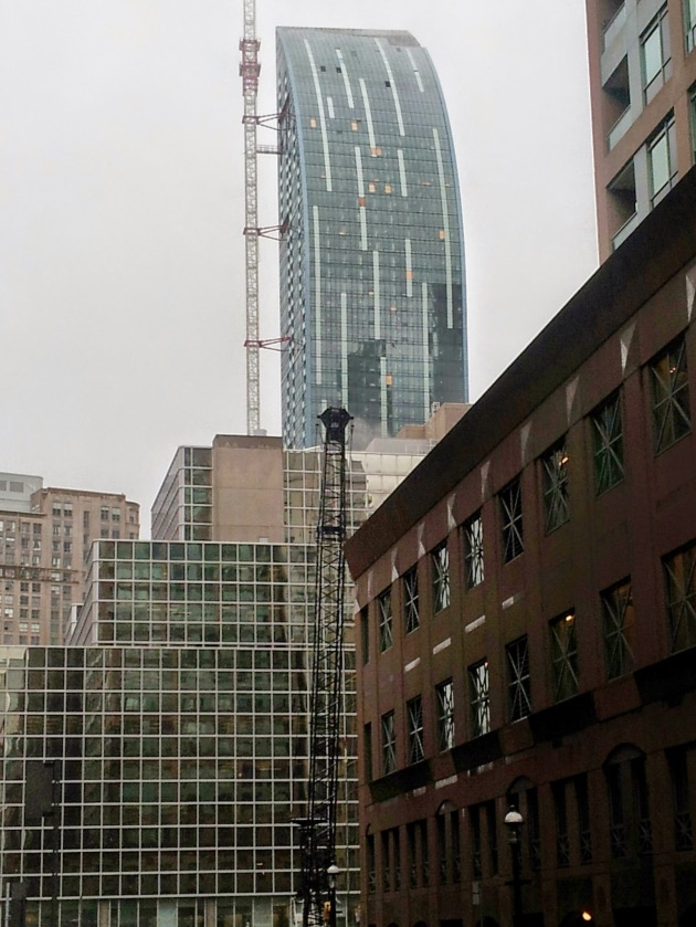 L Tower as seen from King Street East and Scott Street