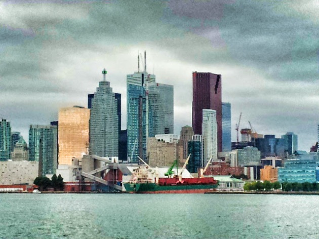 L Tower from Toronto Harbour