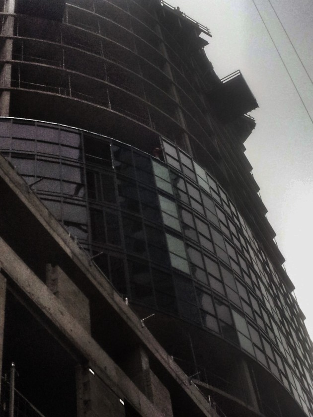 The windows are increasing at Backstage. October 2, 2014