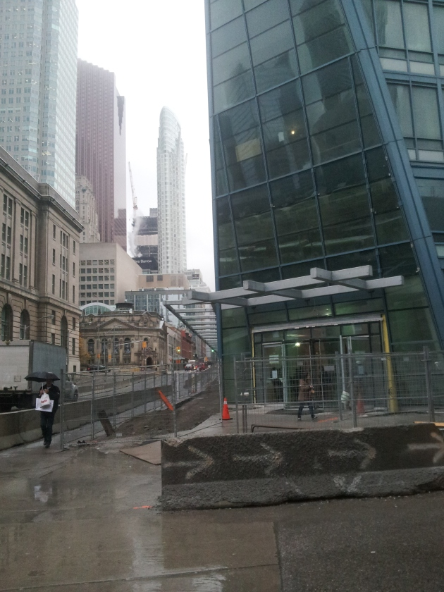 L Tower entrance at Yonge and The Esplanade
