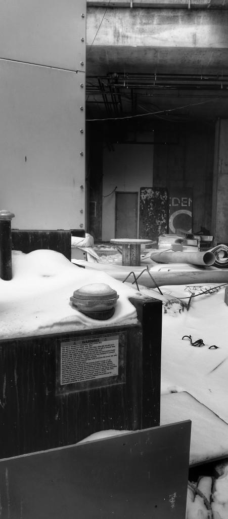 Backstage winter