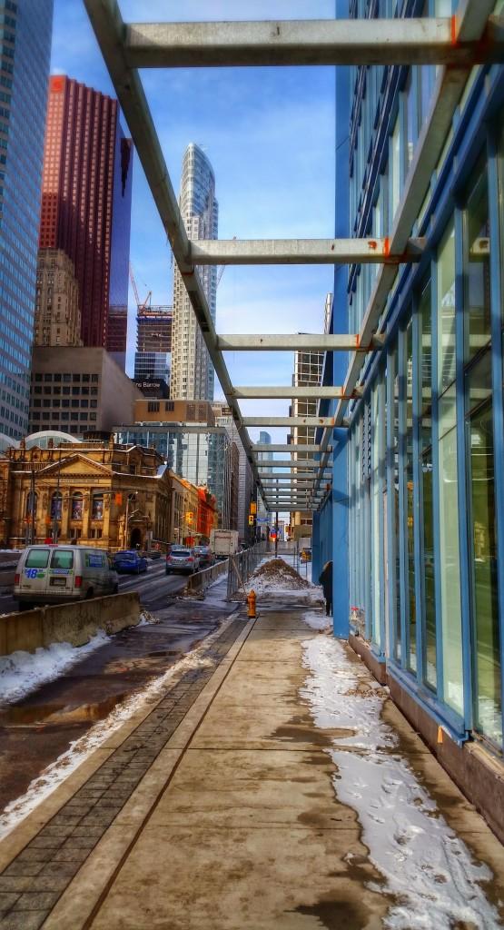 L Tower on Yonge Street, Febraury 6, 2015