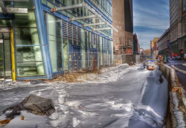 L Tower- Snow on The Esplanade