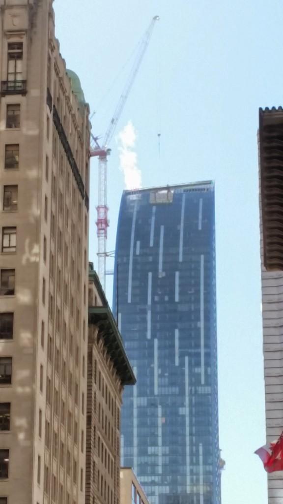 L Tower Crane from Yonge Street