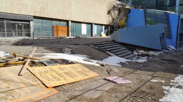 Sony Plaza ready for its makeover