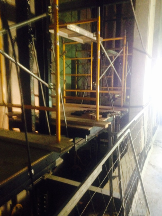 Backstage Interior construction 3