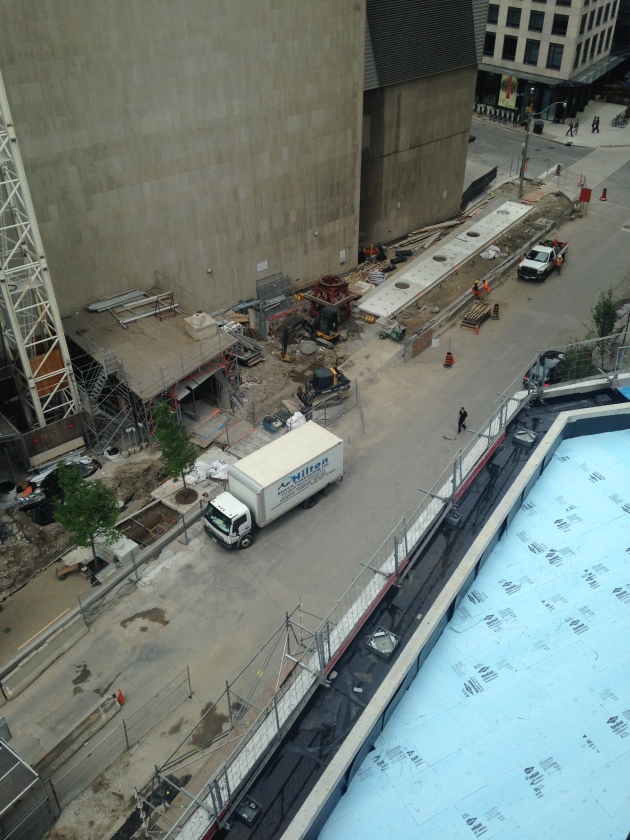 Esplanade Sidewalk Construction June 5