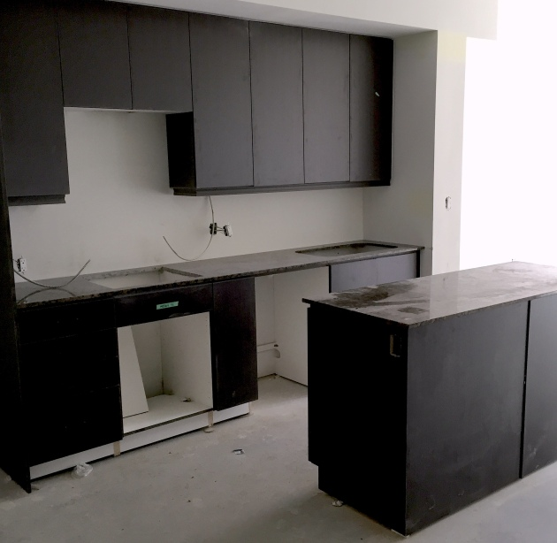 Kitchen in Backstage Suite