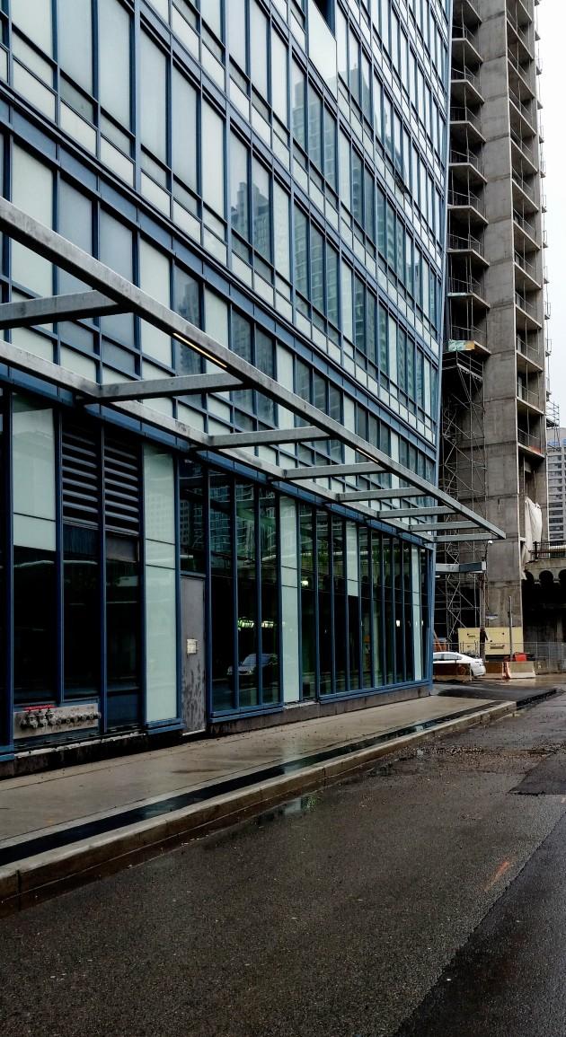 L Tower Yonge Street Sidewalk