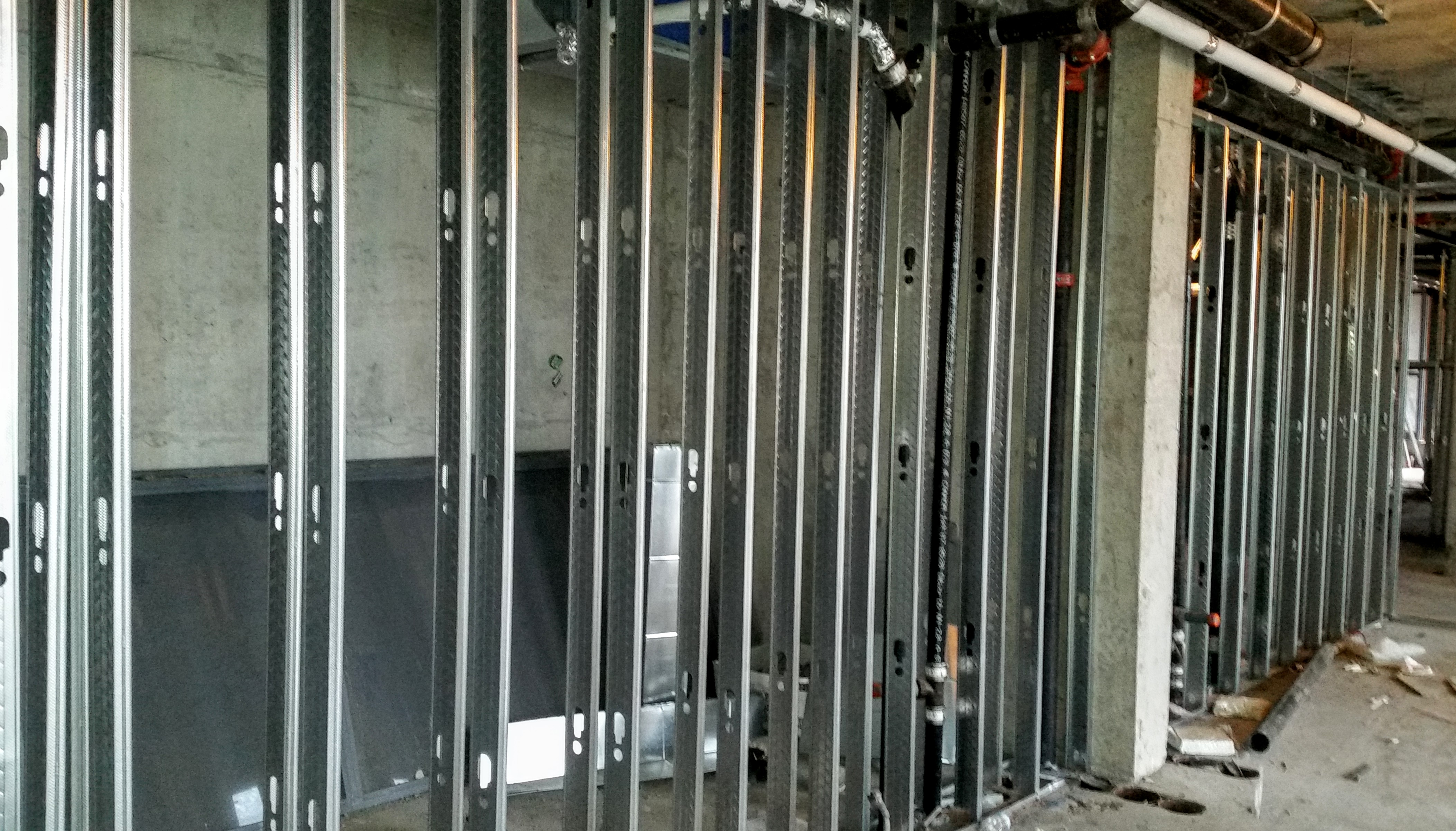 Dry Wall Construction : Backstage construction schedule august  l