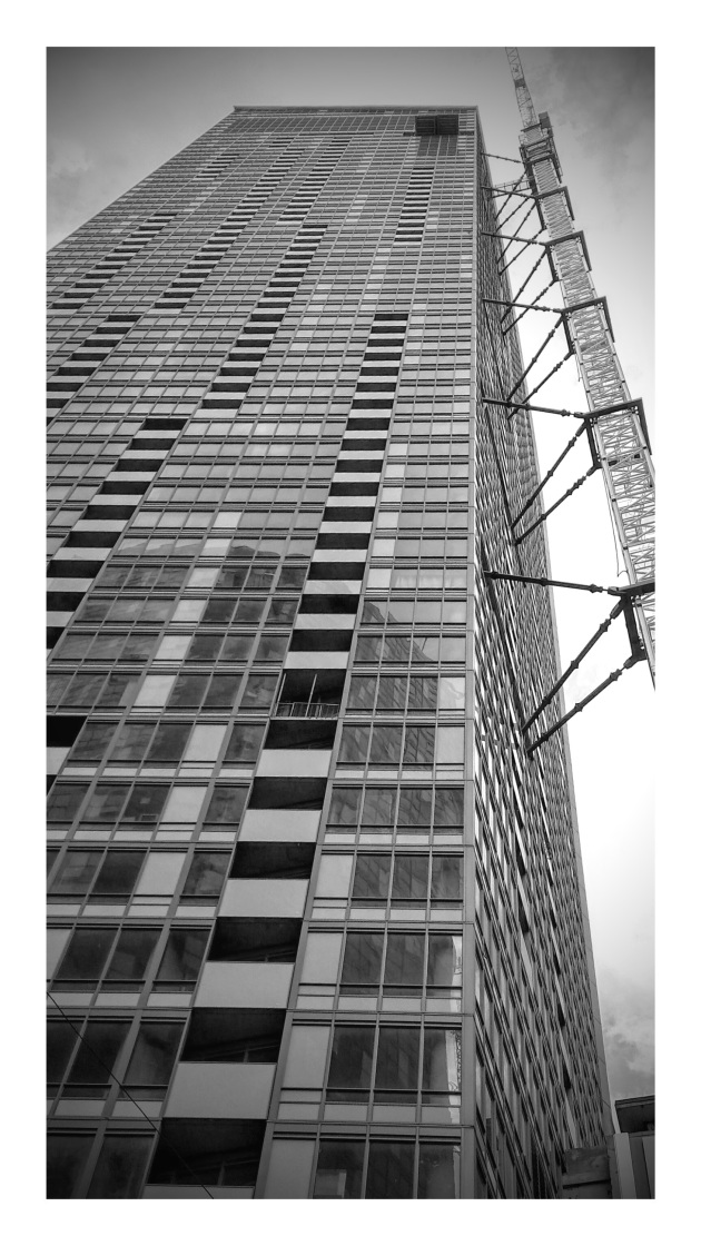 L Tower in Black & White