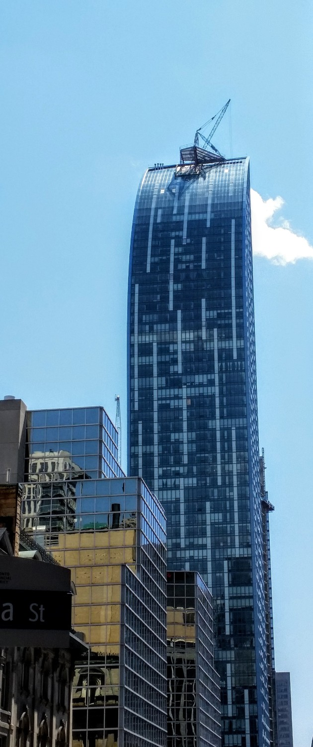 L Tower from Yonge and Melinda May 16, 2016