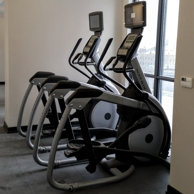 elipitical-machines-intsalled-in-the-backstage-gym-area